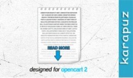 Read More (for Opencart 2)