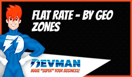 Flat rate by GEO zones - Different flat cost by ..