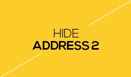 Hide Address 2 Field