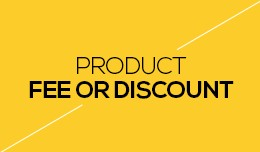 Product Fee or Discount
