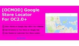 [OCMOD]Google Store Locator for OC2.0+