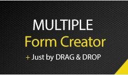 Form Creator - Multiple - Drag and Drop OpenCart