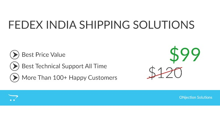 FedEx india shipping solutions