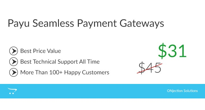 Payu Seamless Payment Gateways