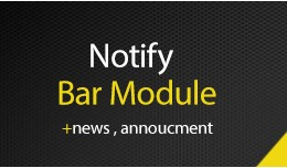 Notify Bar Annoucment