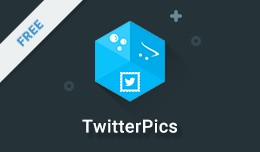 TwitterPics - Display Twitter Pics Based on a Ha..