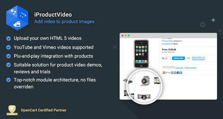 iProductVideo - Add Videos to your Products