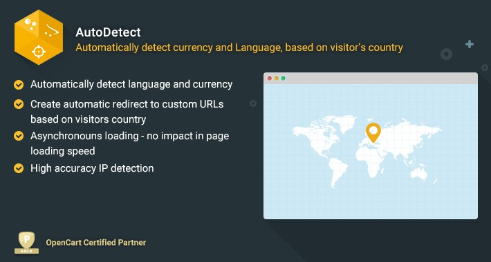 Auto Detect - Automatically Detect Currency and Language