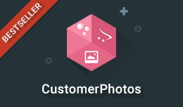 Customer Photos - Users add photos of products b..