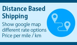 Distance Based Shipping Calculation
