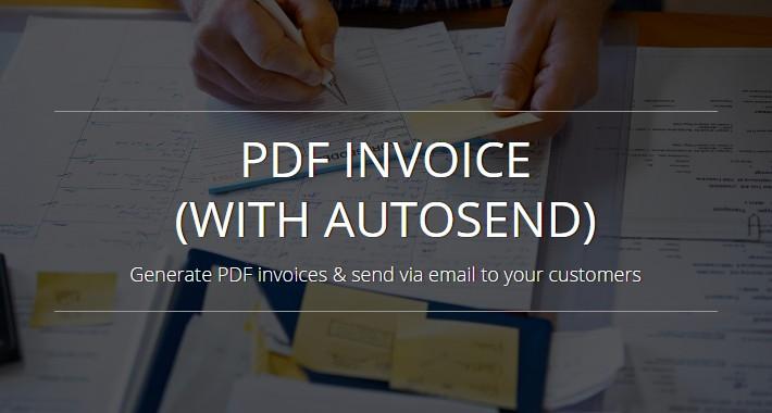 PDF Invoice (with autosend) - OC 2.x-3.x