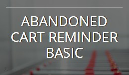 Abandoned Cart Reminder Basic OC1.5.x