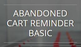 Abandoned Cart Reminder Basic OC1.5.x