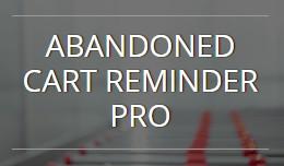 Abandoned Cart Reminder Pro - OC1.5.x