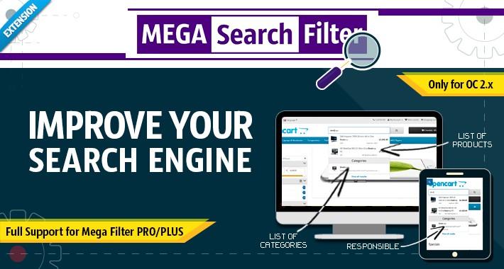 Mega Search Filter