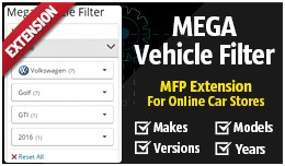 Mega Vehicle Filter [powered by MFP]