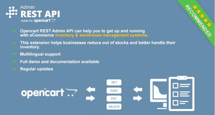 Opencart REST ADMIN API
