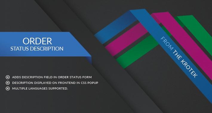 Order Status Description