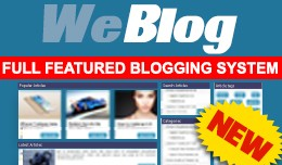 Weblog - Full featured Opencart blog -  50% DISC..