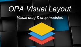 OPA Visual Layout - Drag and Drop Layout Editor