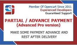 Partial Payment Advanced Pro (vqmod)