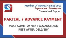 Partial payment module (VQMOD)