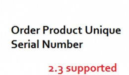 Product Serial Number Key Assign /  Order fulfil..
