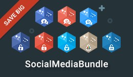 Social Media Bundle - Social 8-in-1 Conversion B..