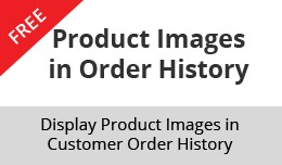 Product Images in Order History