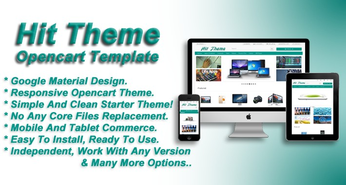 Hit Theme -Opencart Responsive  Template