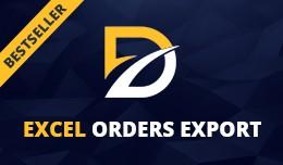 Excel Export Orders