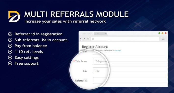 MULTI Referrals Module