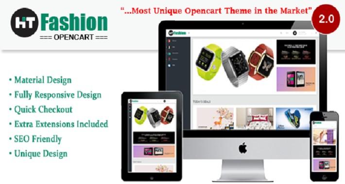 Hit Fashion - Unique Opencart Responsive Theme