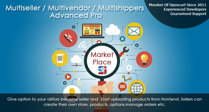 multiseller / multivendor / multishippers advanced pro