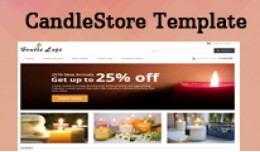 Candle Store Opencart Template