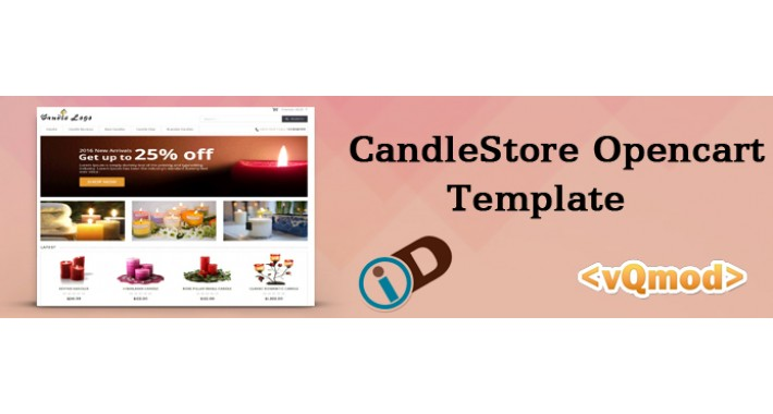 CandleStore Opencart Template