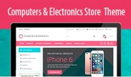 Responsive Clean Computer and Electronics store ..
