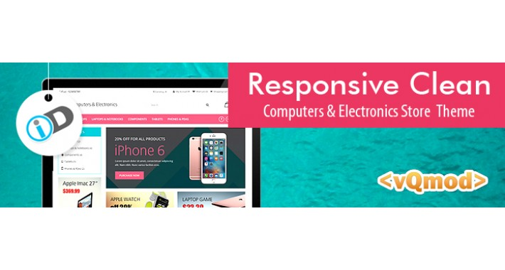 Responsive Clean Computer and Electronics store Theme