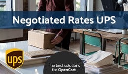 Negotiated Rates UPS (OC v2.x/v3.x)