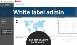 White Label admin (copyright removal) (OC v2.x/v..