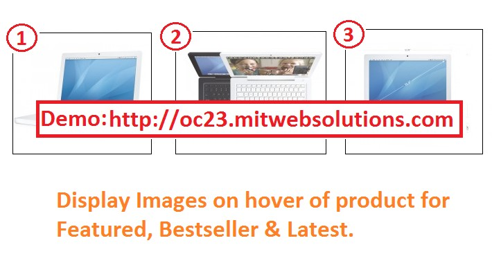 OpenCart - Home page product Image Swap With Additional Image