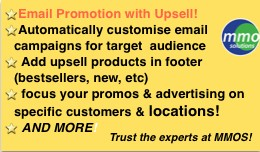 Email Promotion Campaigns with Upsell!