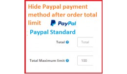 Hide Paypal standard payment method after order ..