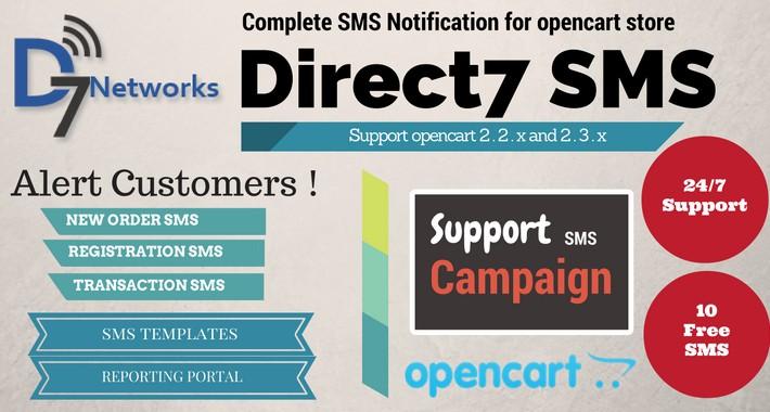 Direct7 SMS Integration