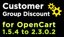 Customer Group Discount (OC1.5 - OC2.3)