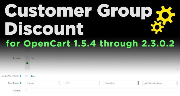 Customer Group Discount (OC1.5 - OC2.3)