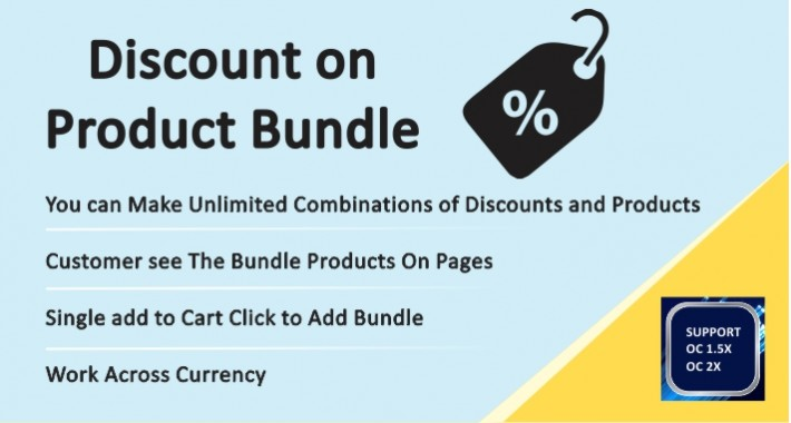Discount on Product Bundle