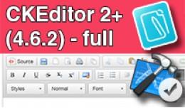 CKEditor 2+ (4.6.2) - full