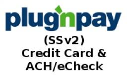 PlugnPay (SSv2) - Credit Card & ACH/eCheck