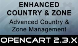 Enhanced Countries & Zones